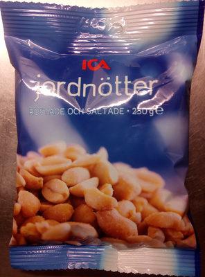 ICA Jordnötter - Product