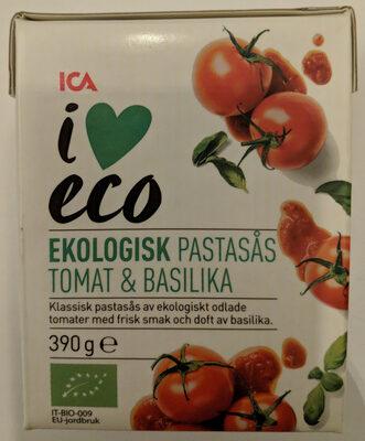 Ekologisk Pastasås Tomat & Basilika - Produit - sv