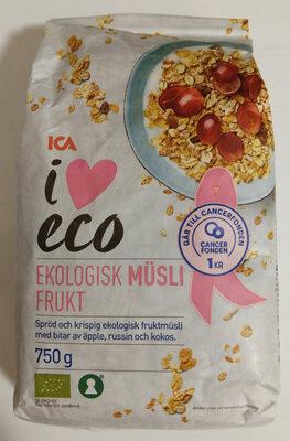 Ekologisk Müsli Frukt - Product