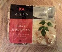 ICA Asia Snabbnudlar biffsmak - Produit - sv