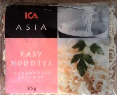 ICA Asia Snabbnudlar räksmak - Produit - sv