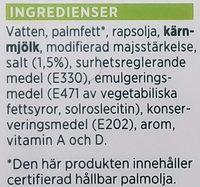 ICA Lättmargarin - Ingrédients - sv