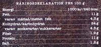 ICA Stenugnsbakad pizza Mozzarella - Informations nutritionnelles