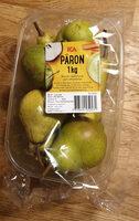Päron - Produit - sv