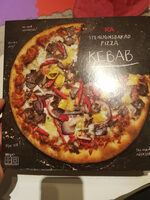 Stenugnsbakad Pizza Kebab - Produit - sv