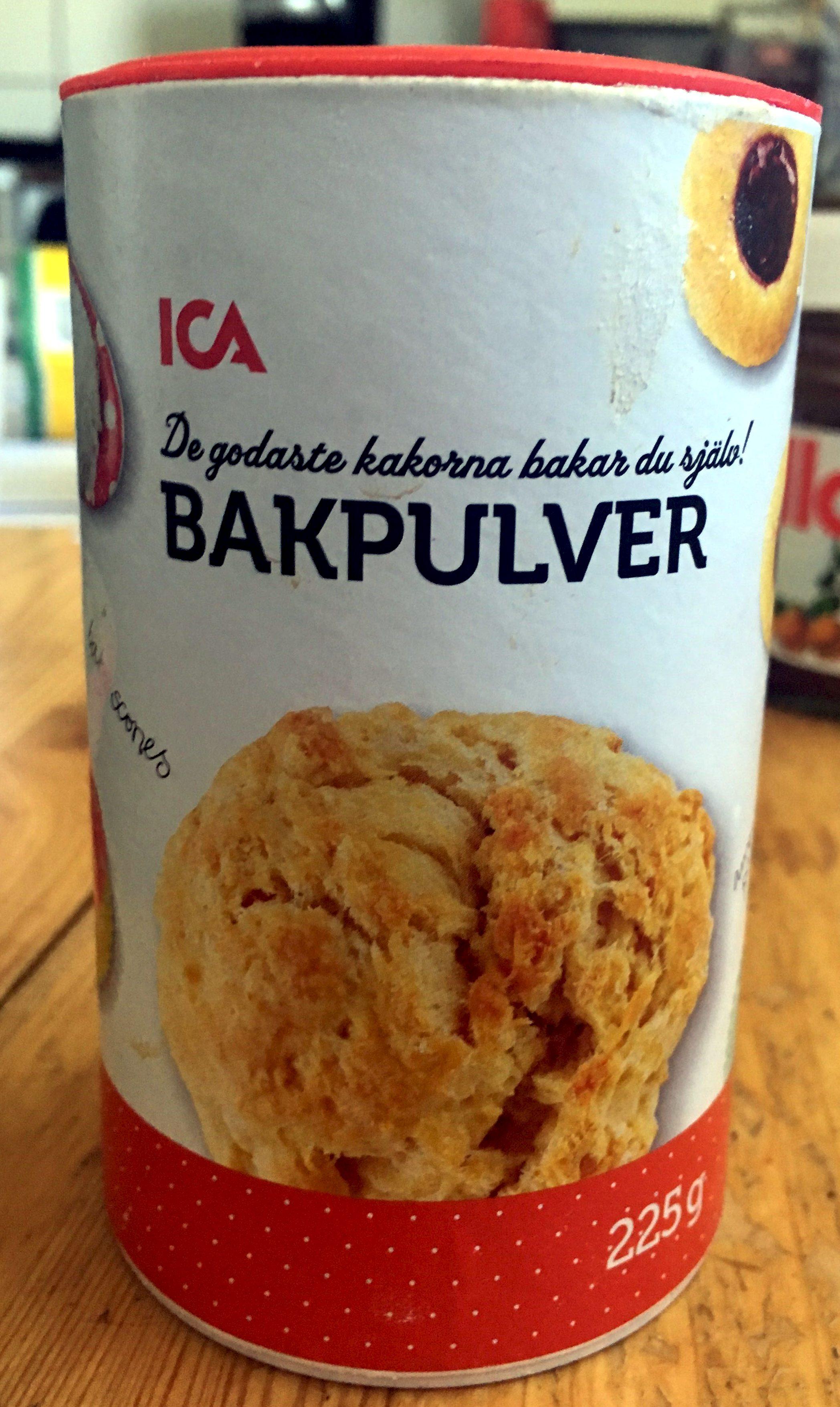 Bakpulver - Produit - sv