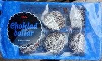 Choklad Bollar - Produit - sv