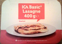 ICA Basic Lasagne - Produit