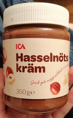 Hasselnots kram - Produit - sv