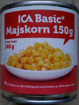 ICA Basic Majskorn - Produit - sv