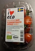 Ekologisk Baby-Plommontomater Sverige Klass 1 - Product - sv