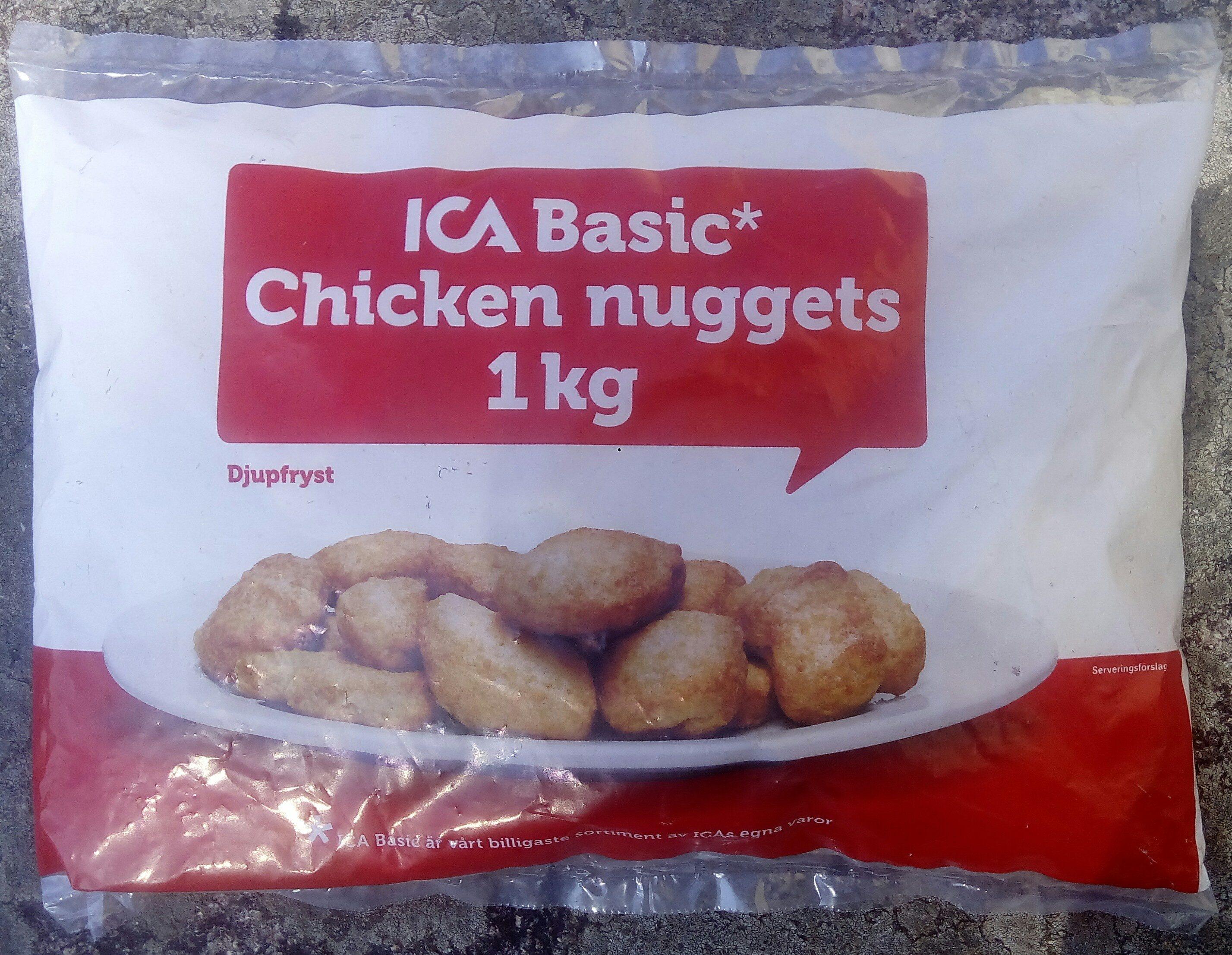 ICA Basic Chicken nuggets - Produit - sv