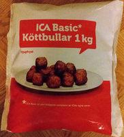 ICA Basic Köttbullar - Produit - sv