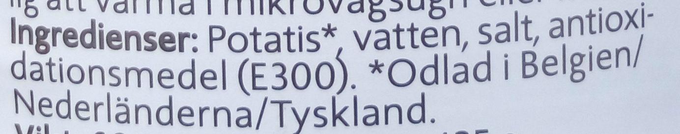 Potatis - Ingredienti - sv