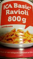 ica Basic ravioli - Produit - de