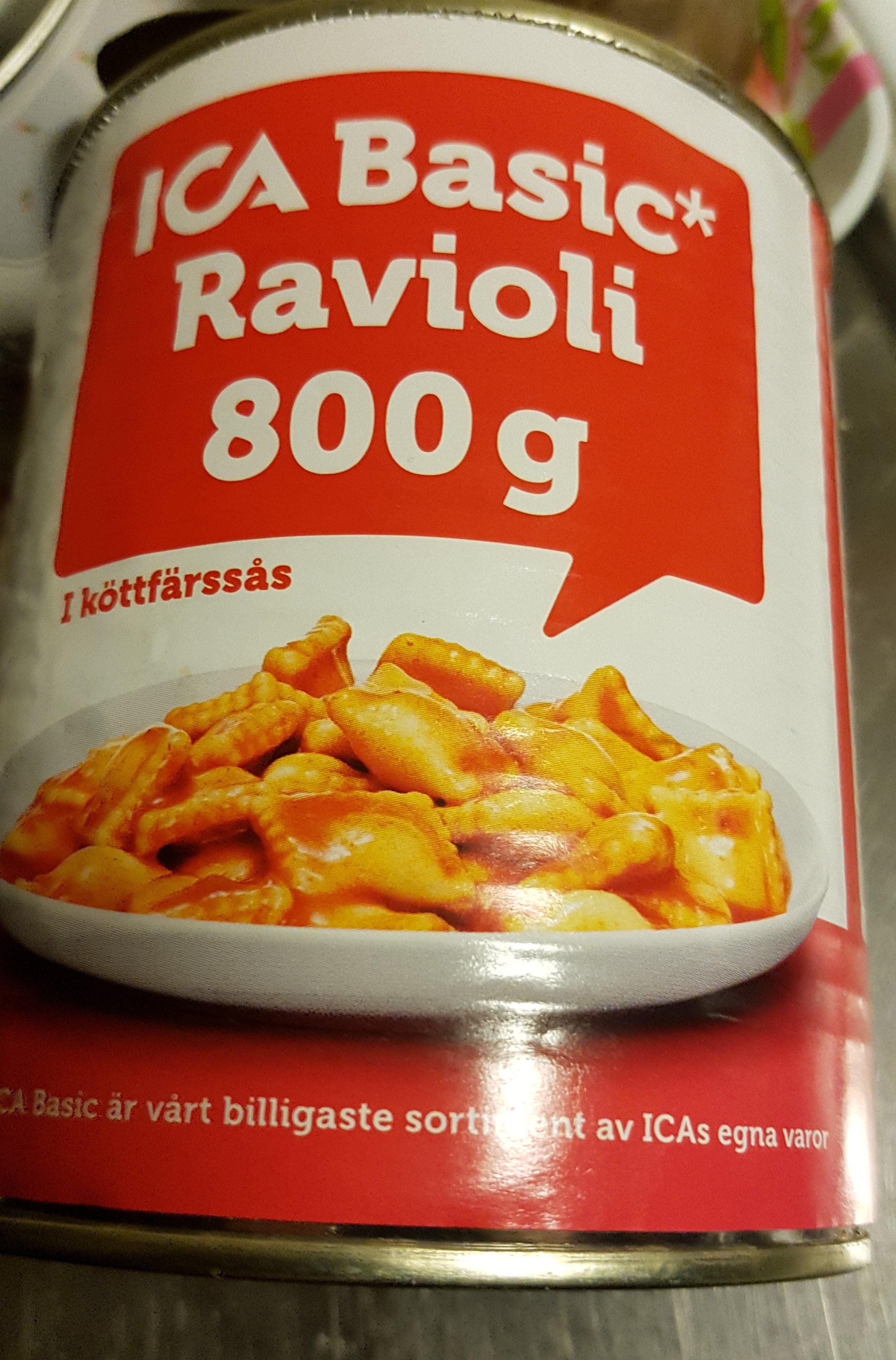 ica Basic ravioli - Informations nutritionnelles - de