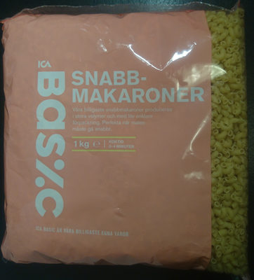 Snabbmakaroner - Produit
