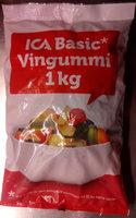 ICA Basic Vingummi - Produit - sv