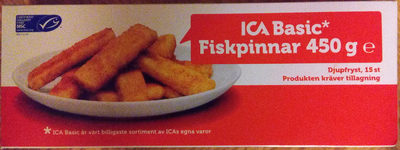 ICA Basic Fiskpinnar - Product