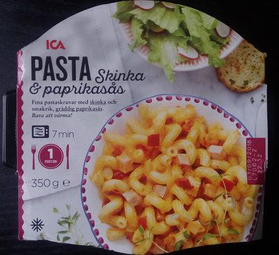 ICA Pasta, Skinka & paprikasås - Product