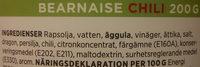 ICA Bearnaise Chili - Ingrédients - sv