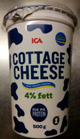 ICA Cottage Cheese - Produit - sv