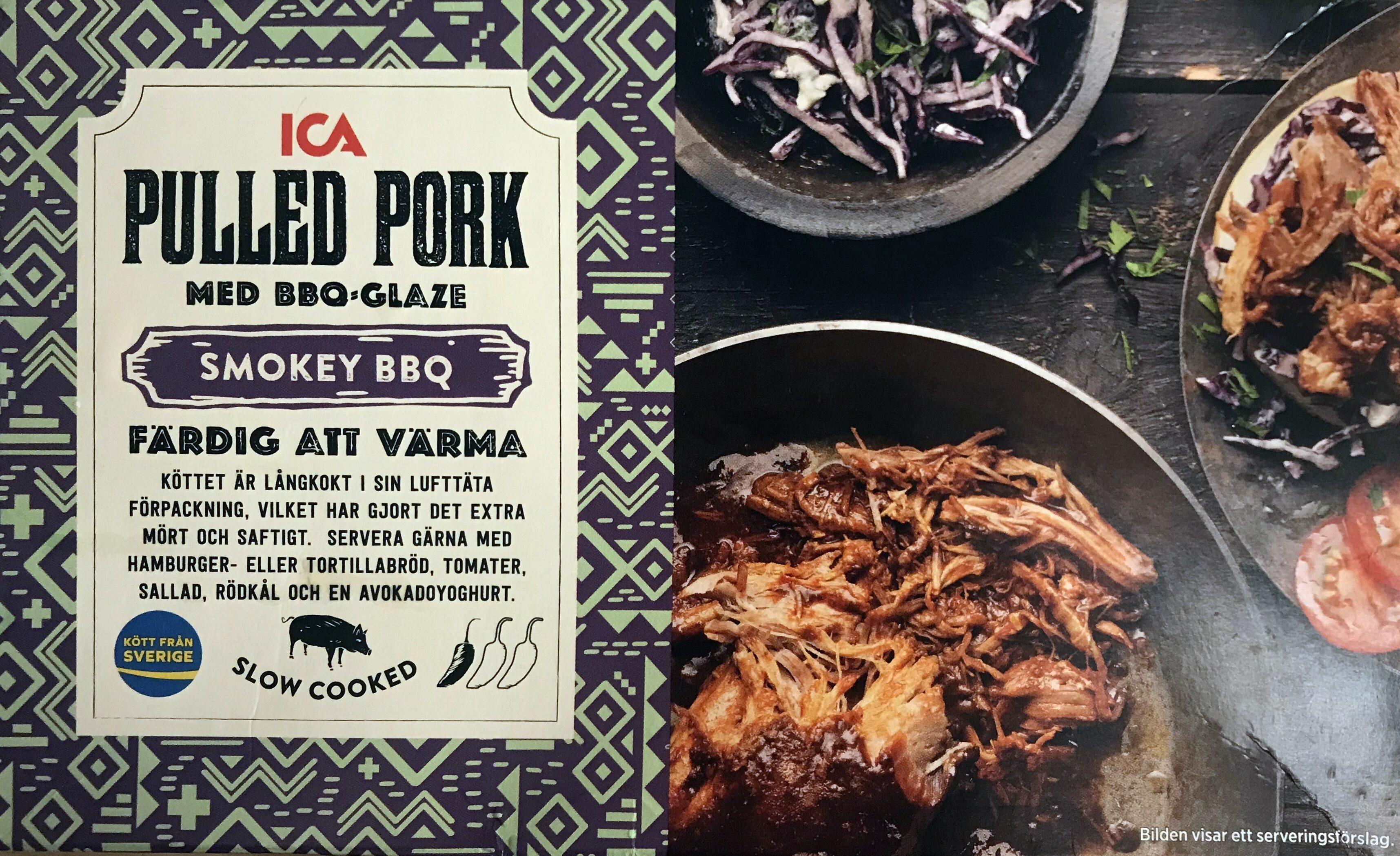 Pulled pork - Produit - sv