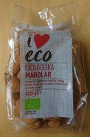 Ekologiska mandlar - Product - sv