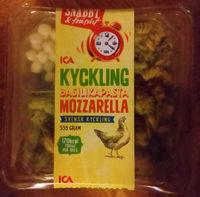ICA Snabbt & fräscht Kyckling, basilikapasta, mozzarella - Product