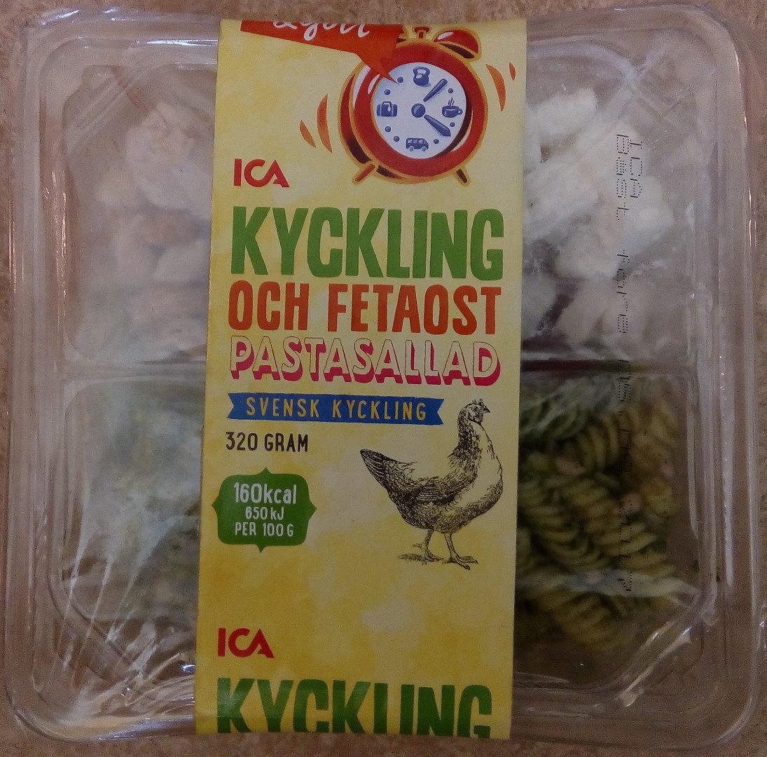 ICA Smidigt & gott Kyckling och fetaost, pastasallad - Product