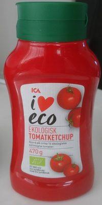 ICA i♥eco Ekologisk tomatketchup - Product