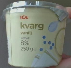 ICA Kvarg Vanilj - Product - sv