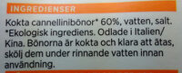 ekologiska cannellinibönor - Ingredients - sv