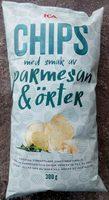 ICA Chips med smak av parmesan & örter - Product