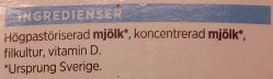 ICA Lättfil Naturell - Ingrédients