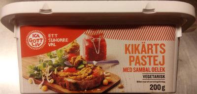 ICA Gott Liv Kikärtspastej med sambal oelek - Product