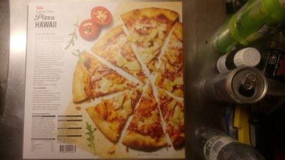 ICA Bara att värma Pizza Hawaii - 2