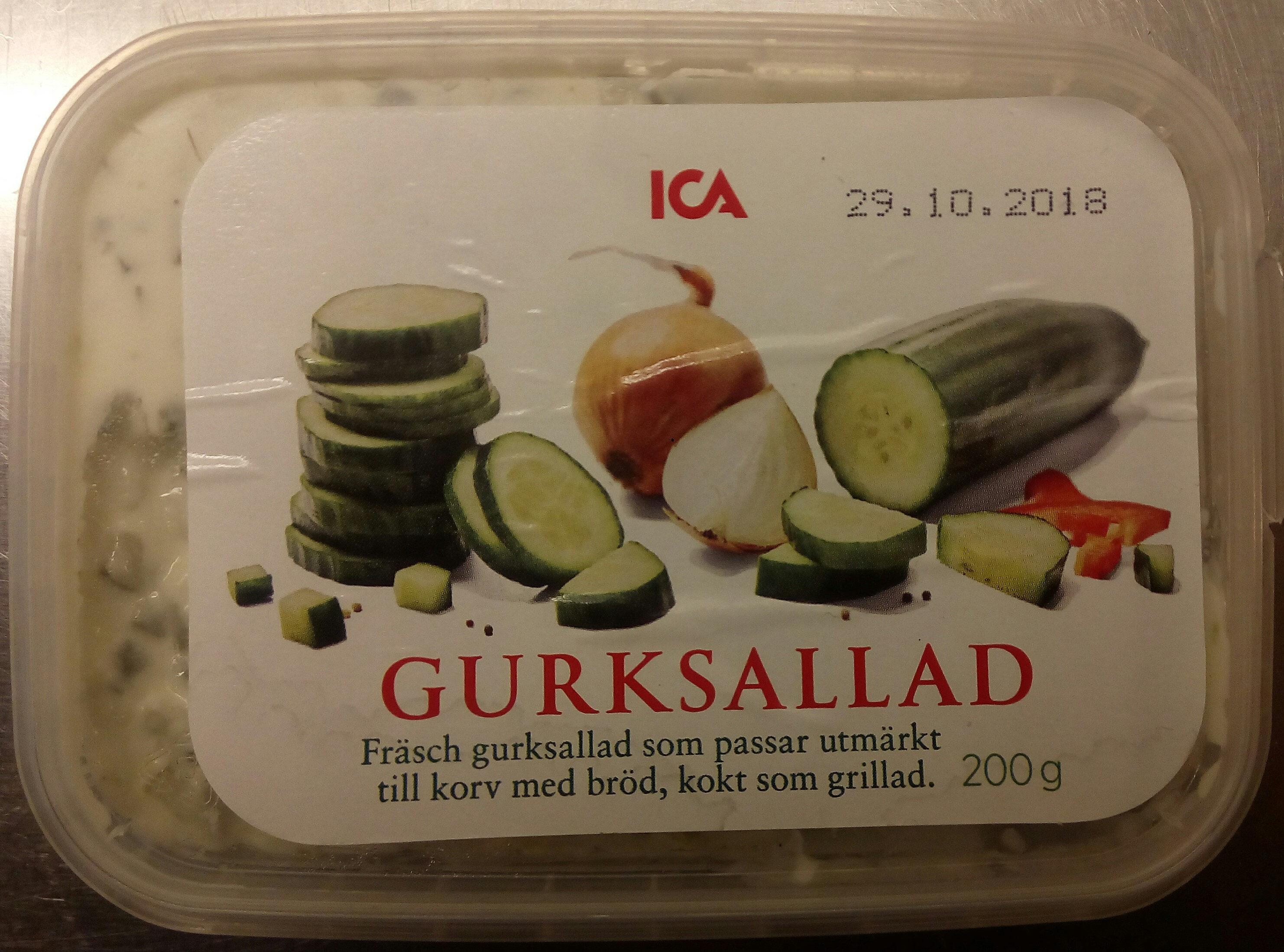 ICA Gurksallad - Produit - sv