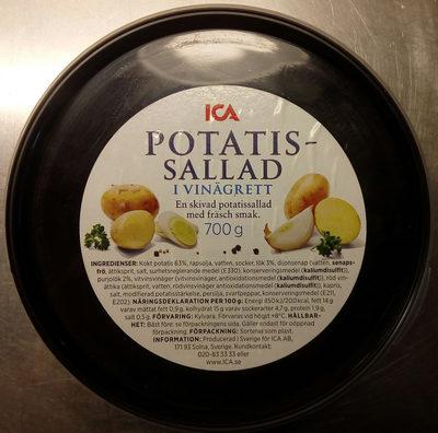 ICA Potatissallad i vinägrett - Produit - sv