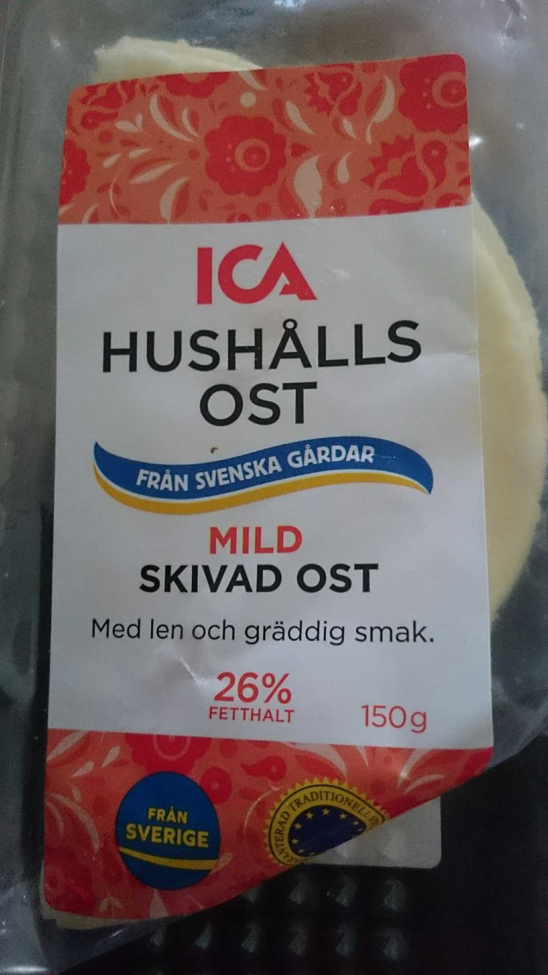 Hushållsost - Produit - sv