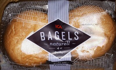 Bagels naturell - Produit - fr