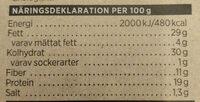 Ekologiskt Fröknäcke Havre - Nutrition facts - sv