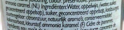 Somersby Apple Cider 4.5% - Ingrediënten - nl