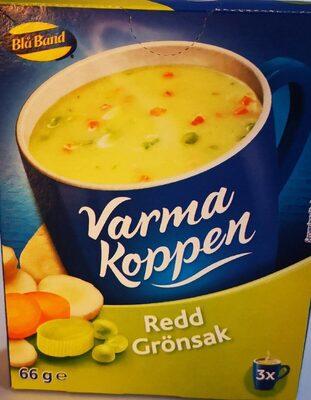 Blå Band Varma Koppen Redd Grönsak - Produit - sv