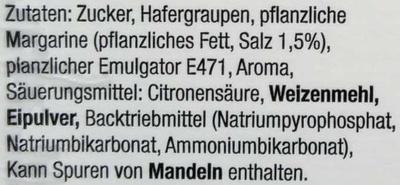 Hafertaler - Inhaltsstoffe