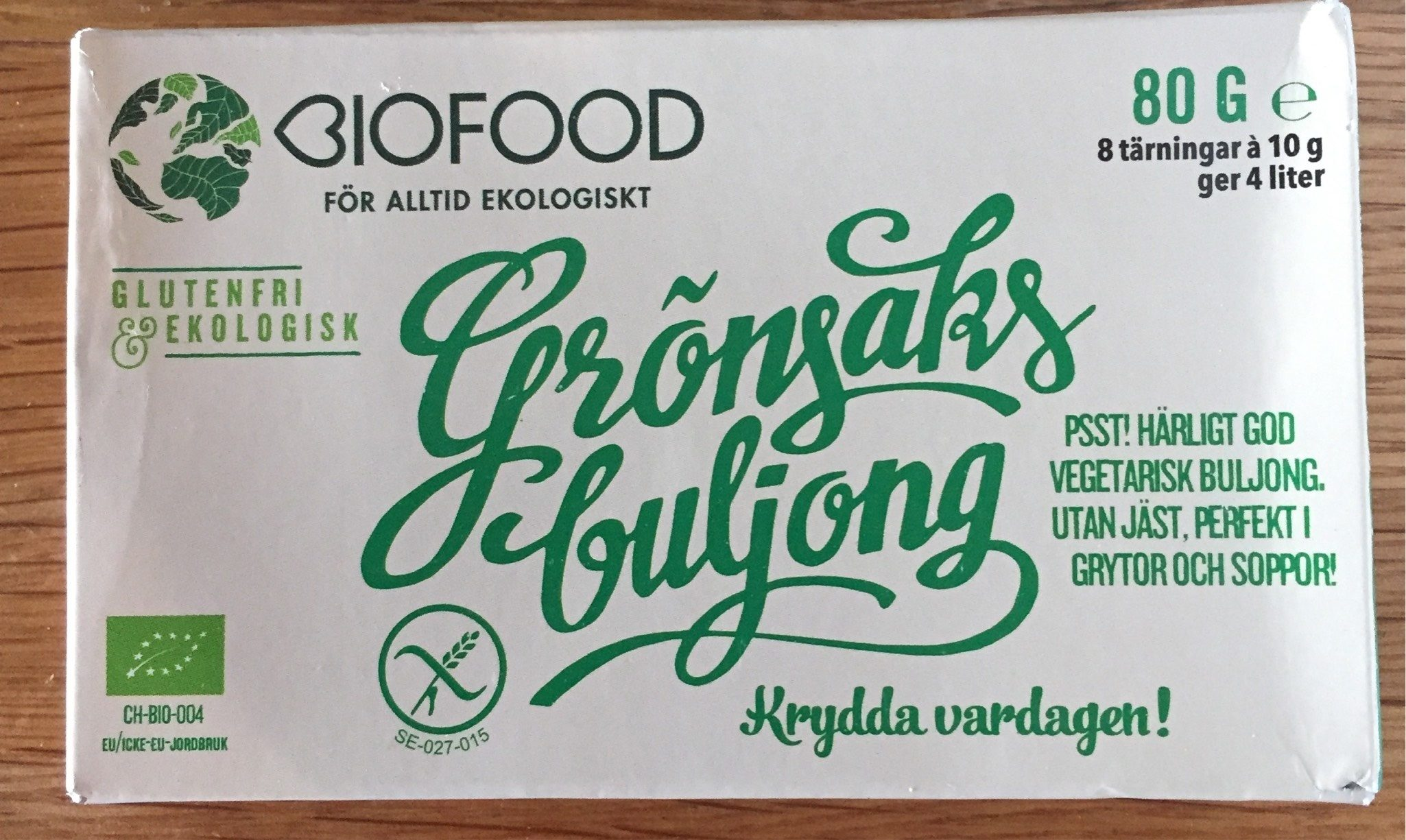 Bouillon legumes - Product - fr