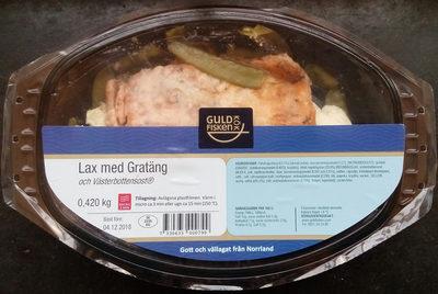 Guldfisken Kök Lax med Gratäng och Västerbottensost - Produit