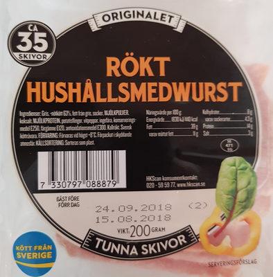 rökt hushållsmedwurst - Produit - sv