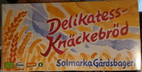 Delikatess-Knäckebröd - Product