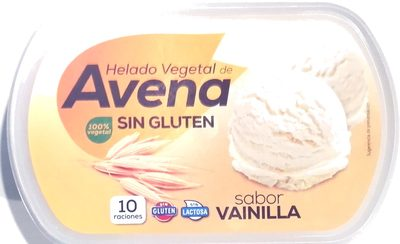 Helado vegetal de avena sabor vainilla - Producte